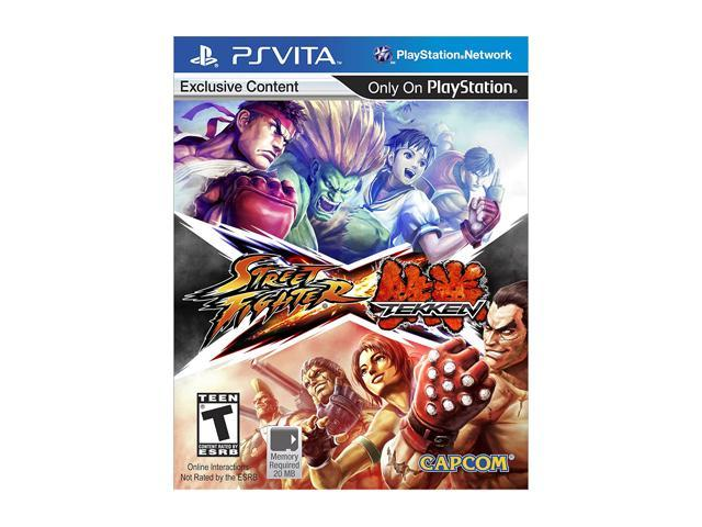 Street Fighter X Tekken PS Vita Games CAPCOM