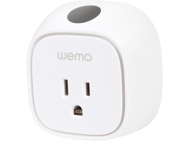 Wemo Insight Switch, Wi-Fi Smart Plug, Control Lights and Appliances From Your Phone, Manage Energy Costs, Works with Alexa photo
