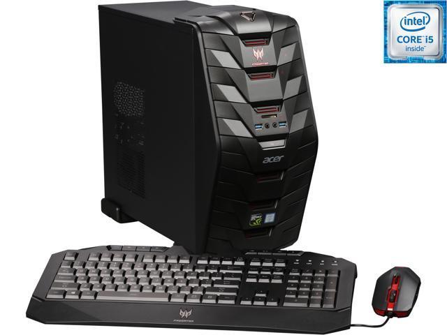 Acer Desktop Computer Predator G3 AG3-710-UR53 Intel Core i5 6th Gen 6400 (2.7 GHz) 8 GB DDR4 1 TB HDD Windows 10 Home