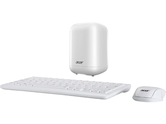 Acer Desktop Computer Revo One RL85-UR52 Intel Core i5 5200U (2.20 GHz) 8 GB DDR3L 1 TB HDD Windows 10 Home 64-Bit