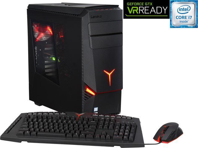 Lenovo Desktop Computer Y900-34ISZ (90DD000SUS) Intel Core i7 6700K (4.00 GHz) 16 GB DDR4 2 TB HDD + 8 GB SSHD + 256 GB SSD NVIDIA GeForce GTX 980 4 GB Windows 10 Home 64-Bit