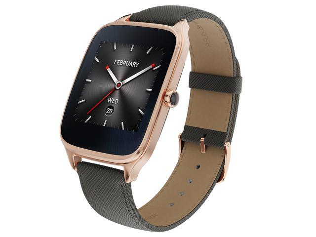ZenWatch 2 Android Wear Smartwatch (Rose Gold Casing/Taupe Leather Band)