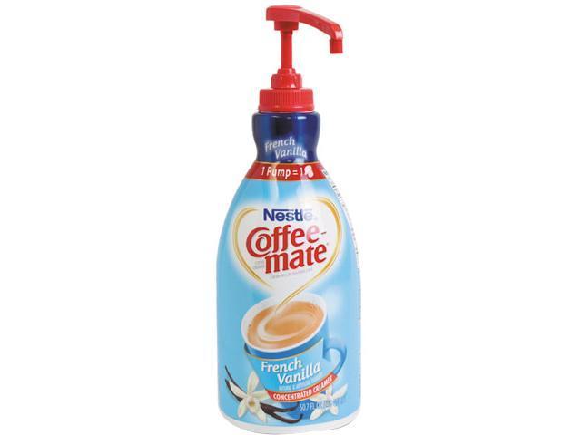 Coffee-mate 31803 Liquid Coffee Creamer, Pump Dispenser, French Vanilla 1.5 Liter photo