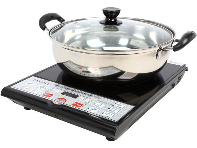 Tayama 1500 Watts Digital Induction Cooktop with Pot and Lid SM15-16A3 photo