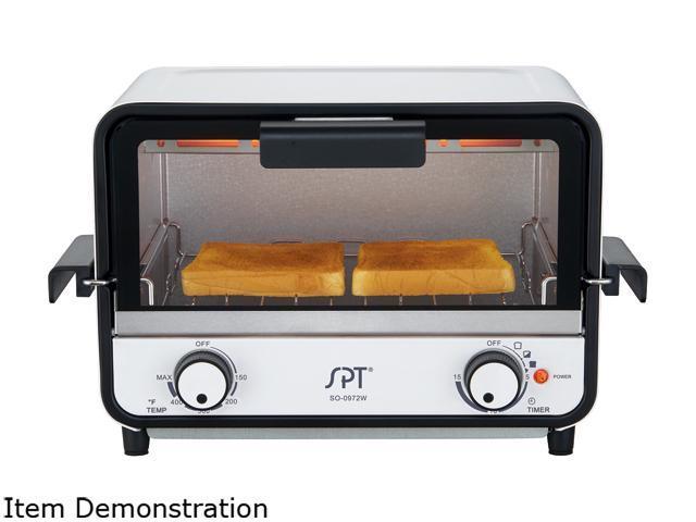 Sunpentown Easy Grasp 2-Slice Countertop Toaster Oven SO-0972W photo