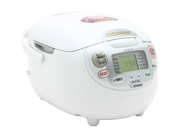 ZOJIRUSHI NS-ZCC10NS White Rice cooker & Warmer photo