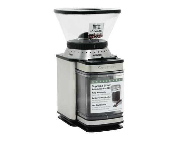 Cuisinart DBM-8 Stainless Steel Supreme Grind Automatic Burr Mill photo
