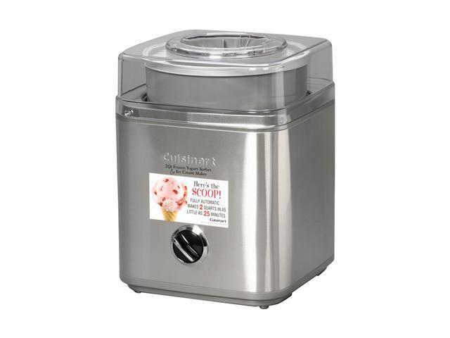 Cuisinart ICE-30BC Pure Indulgence 2-Quart Automatic Frozen Yogurt, Sorbet, and Ice Cream Maker photo