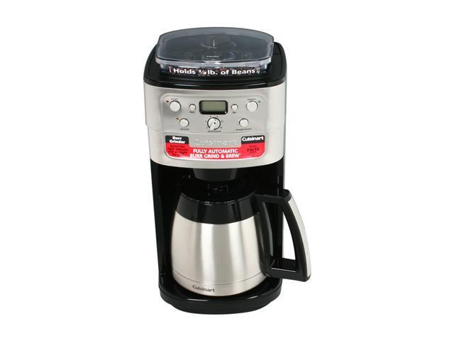 Cuisinart DGB-900BC Chrome Grind & Brew Thermal 12-Cup Automatic Coffeemaker photo