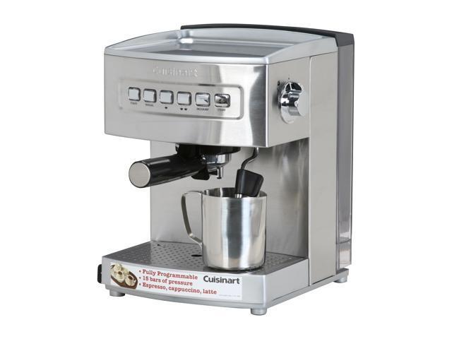 cuisinart em 200 programmable espresso maker stainless. Black Bedroom Furniture Sets. Home Design Ideas