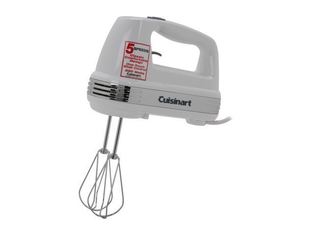 Cuisinart HM-50 Power Advantage 5-Speed Hand Mixer White photo