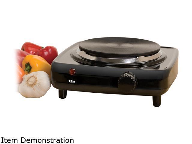 Maxi-Matic Elite Cuisine Electric Single Burner ESB-301BF photo
