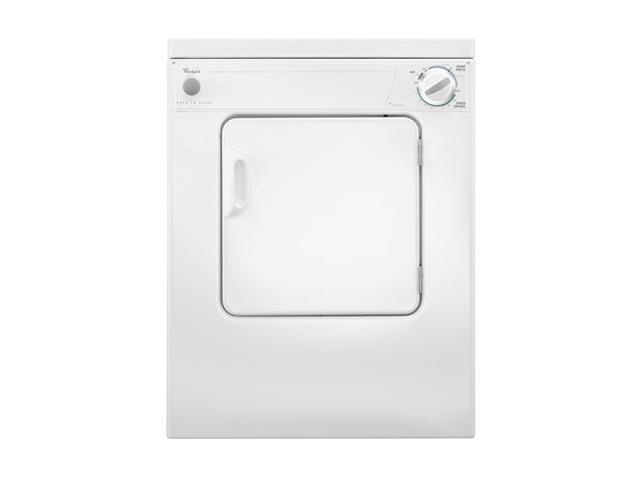 Whirlpool LDR3822PQ White Electric Dryer photo