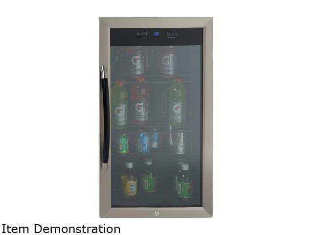Avanti BCA306SSIS 3.0 cu. ft. Beverage Cooler - Black with Stainless Trim Glass Door photo