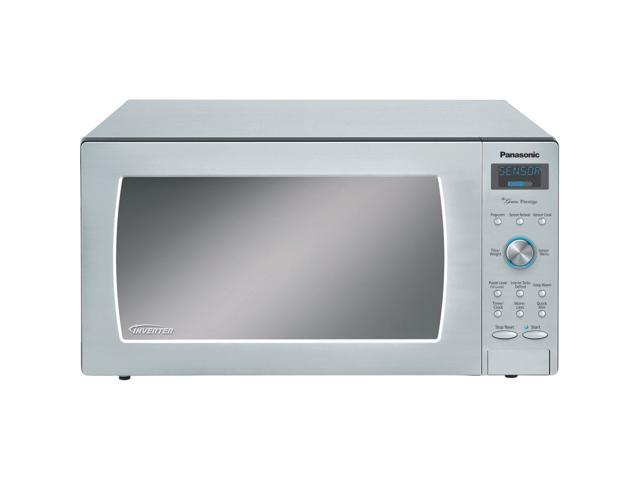 Panasonic NN-SD797S 1.6 cu. ft. 1250W Countertop/Built-in Microwave Oven, Inverter Technology, Stainless Steel