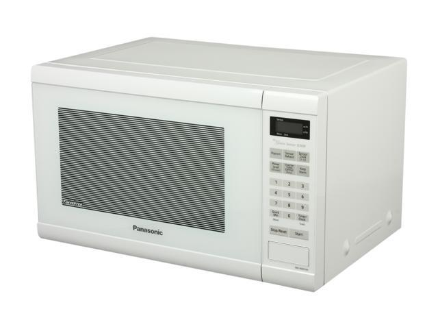Panasonic 1.2 Cu. Ft. Countertop Microwave Oven with Inverter Technology, White NN-SN651W photo