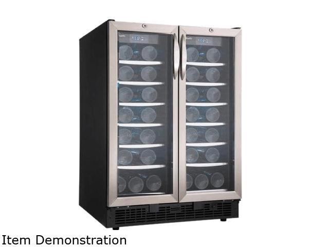 Danby DBC2760BLS Beverage Center Black with Stainless Steel photo