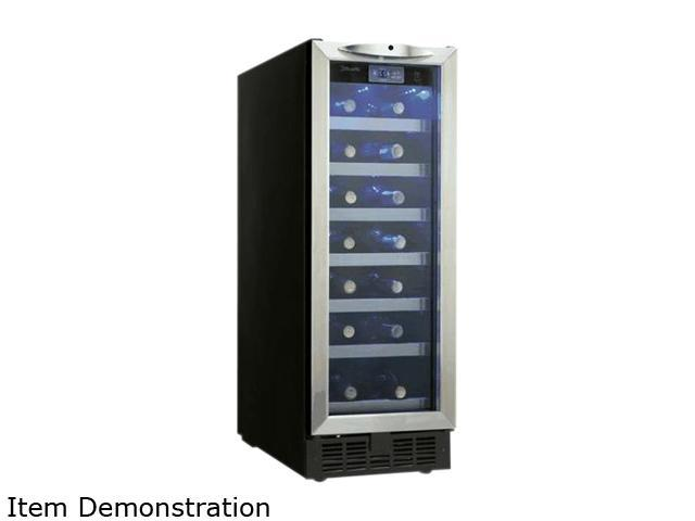 Danby DWC276BLS Slim 27-Bottle Silhouette Wine Cellar, Black/Stainless Steel photo