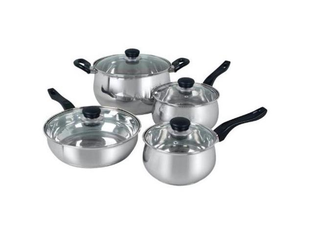 Gibson 4 Piece Rametto Stainless Steel Cookware Set photo