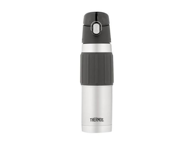 Thermos 2465P Stainless Steel/Black Vacuum Insulated Hydration Bottle photo