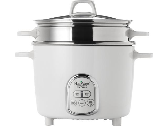 AROMA NRC-687SD NutriWare Digital Rice Cooker and Food Steamer photo