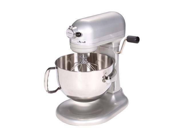KitchenAid KP26M1XNP Professional 600 Series 6-Quart Stand Mixer Nickel Pearl