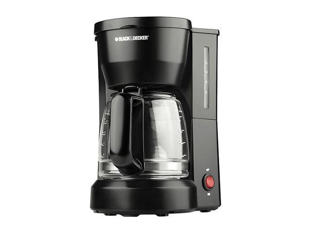 BLACK+DECKER DCM600B 5-Cup Compact Switch Coffeemaker, Black photo
