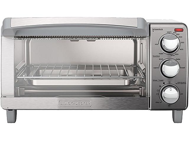 Black & Decker TO1760SS Silver Toaster Oven, Silver