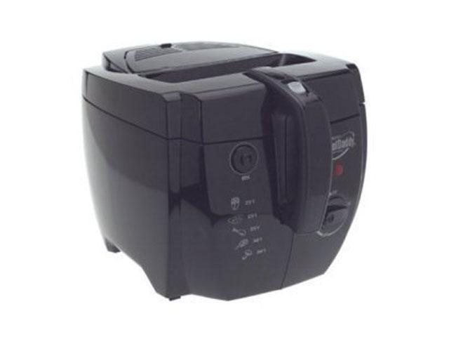 PRESTO 05442 Professional CoolDaddy Cool-touch Deep Fryer, Black photo