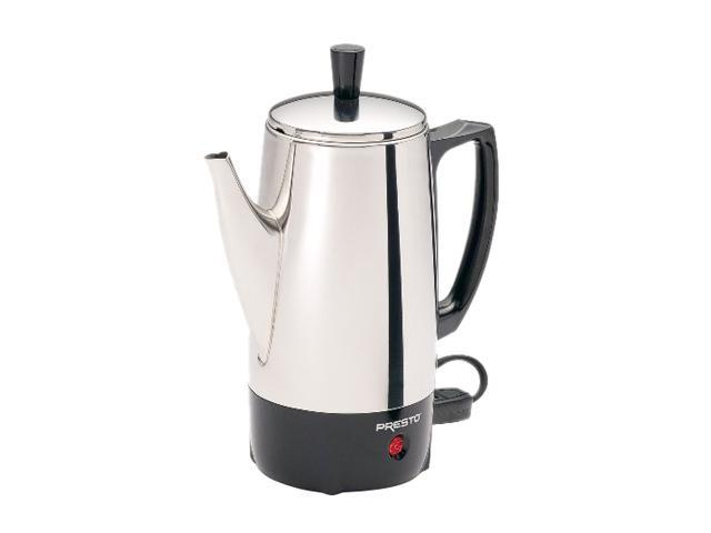 PRESTO 02822 Stainless steel 6-Cup Coffee Maker photo