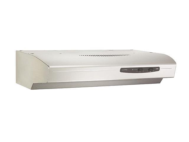 "BROAN 30"" Under Cabinet Hoods QS1 Series (Allure I) Range Hood QS130SS Stainless Steel"