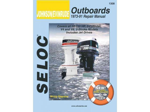 johnson evinrude outboards 1973 91 repair manual seloc 39 s. Black Bedroom Furniture Sets. Home Design Ideas