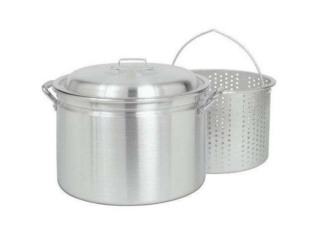 Bayou Classic 34 Quart Fryer/Steamer with Lid and Basket photo
