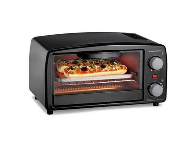 Proctor Silex 31118R Toaster Oven Broiler, Black photo
