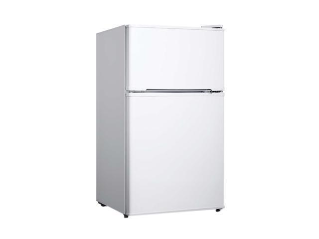 SPT RF-354W Home Decor 3.5 cu. ft. Double Door Refrigerator, White - Energy Star photo