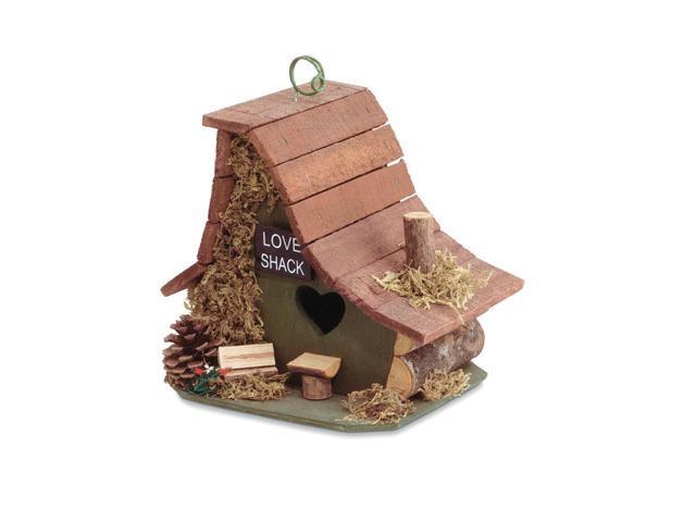 Koehler Home Decorative Wooden Love Shack Bird House (849179014544 Home & Garden) photo