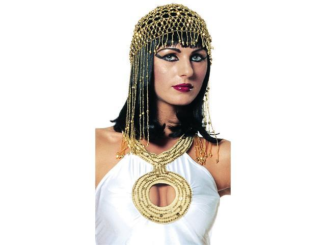 Deluxe Beaded Egyptian Headpiece - Egyptian Costume Accessories
