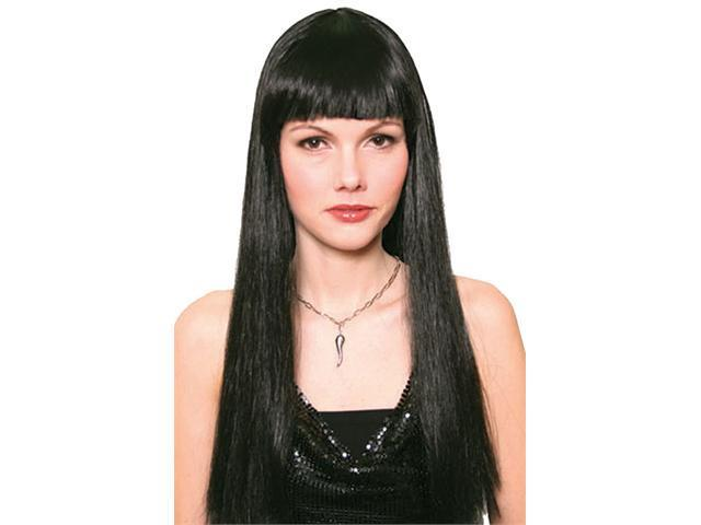 Adult Black Hippie Wig - Costume Wigs. Adult Black Hippie Wig Adult Hippie ...