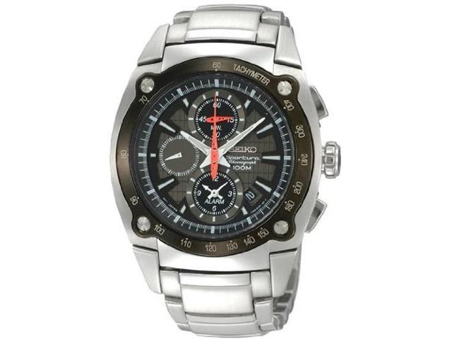 Seiko Chronograph 100M Mens Watch SNAA95