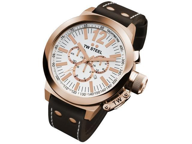 TW STEEL CEO Rose Gold 50MM Mens Watch CE1020