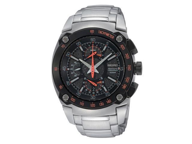 Seiko Sportura Dual Flyback Chronograph Mens Watch SPC039