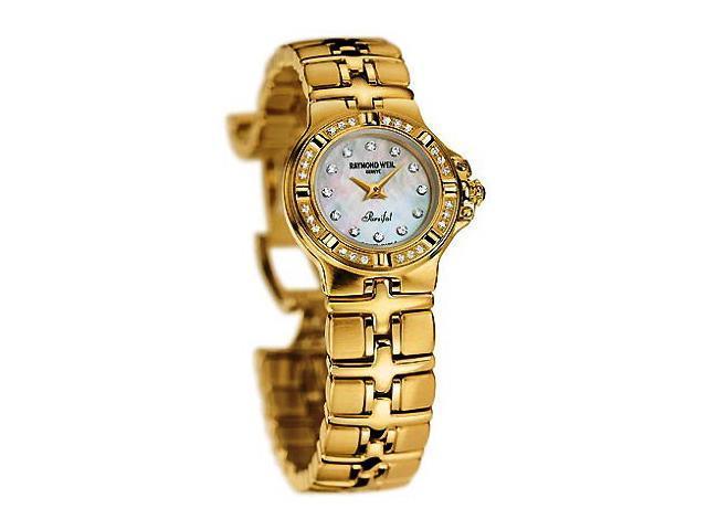 Raymond Weil Parsifal 18k Gold Diamond Ladies Watch 10280-GS-97081