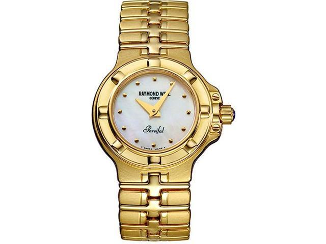 05304ff47d8 Raymond Weil Parsifal 18K Yellow Gold Ladies Watch 10280-G-97005 new