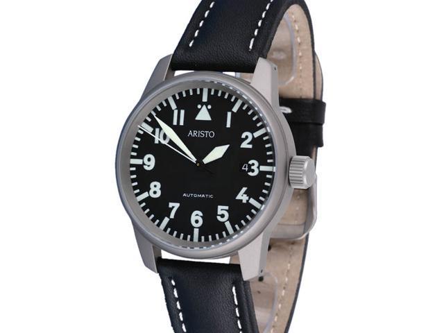 Aristo 5H68TI Titanium Case Automatic Watch