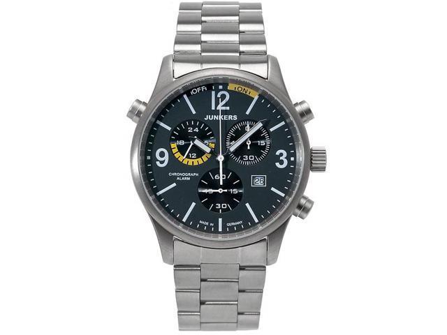 Junkers G-38 Alarm, Chronograph Titanium Watch 6296M-5