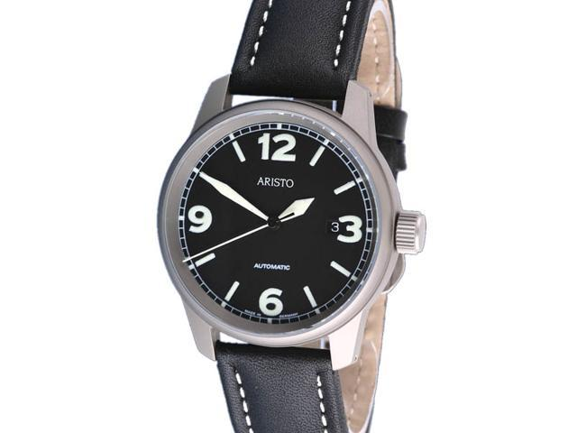 Aristo 5H67TI Titanium Case Automatic Watch