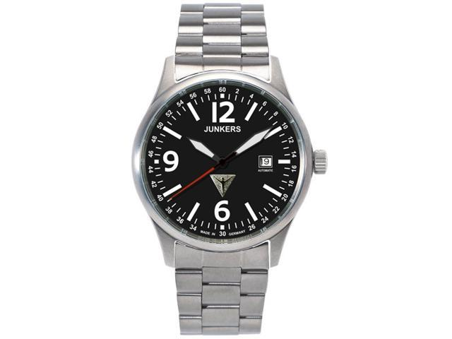Junkers G-38 Titanium Swiss Automatic Watch 6272M-2