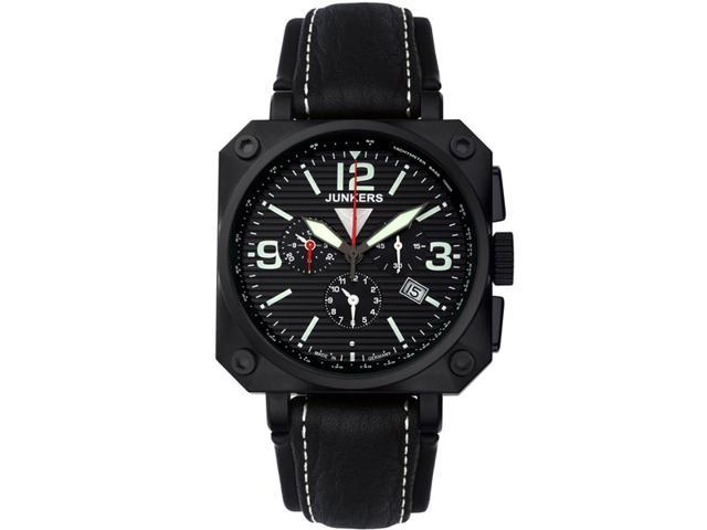 Junkers Horizon Airplane Chronograph, Alarm Watch 6792-2