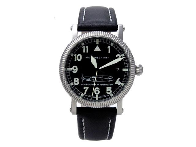 Aristo ME109-G10 Aviator Automatic Watch with a Coin Edge Case