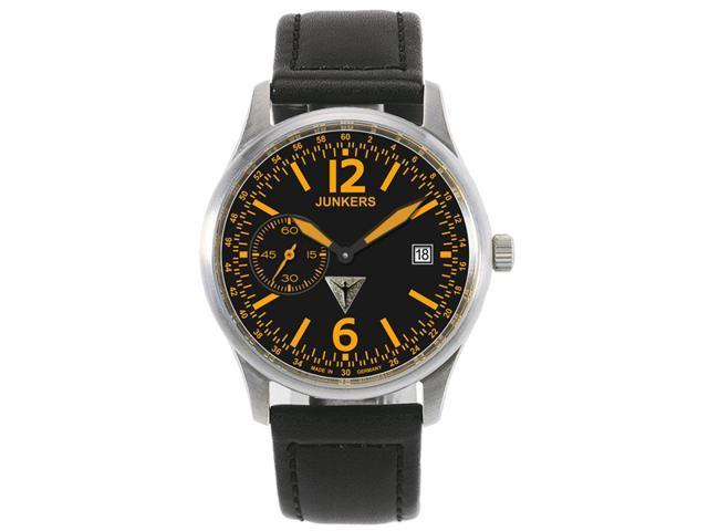 Junkers G-38 World Flight Records Hand Wind Titanium Watch 6238-5